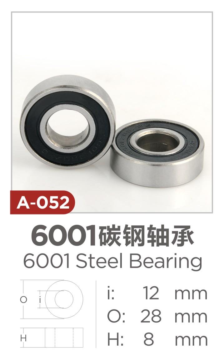 6001 carbon steel bearing