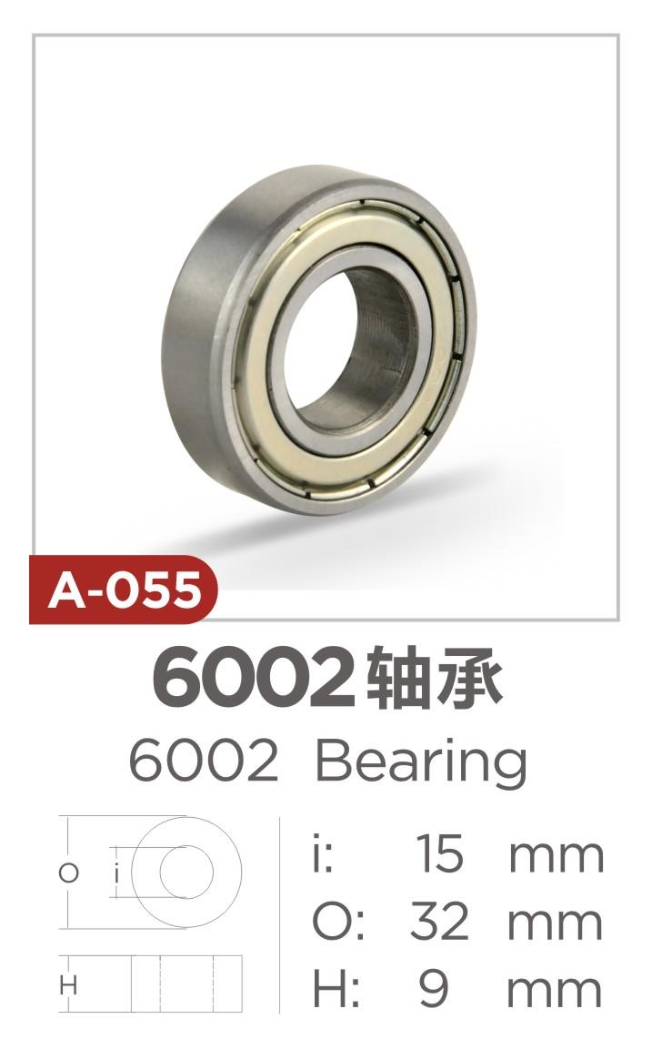 6002zz carbon steel bearing