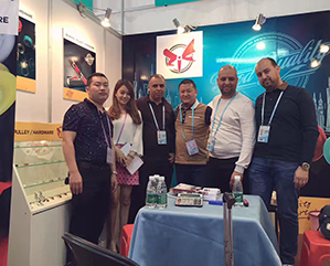 Started attending the China Import & Export Fair(Canton fair) from 2017