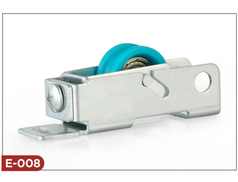 Sliding door pulley