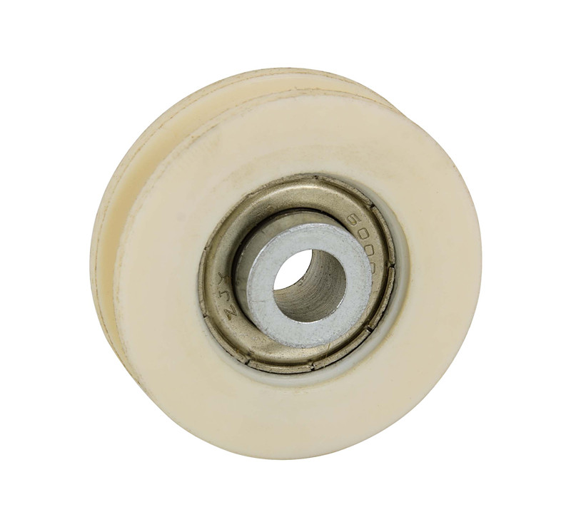 Small pulley wheels